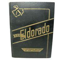 USS ELDORADO AGC-11 1950 1951 KOREAN WAR CRUISE BOOK INCHON IWON LANDINGS