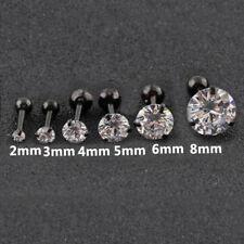 Women Claws Zircon Earrings Ear Stud Titanium Steel Anti Allergy Jewelry Unisex