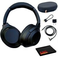 Sony WH-1000XM3 Wireless Noise-Canceling  Headphones (Black)