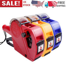 Mx5500 Eos 8 Digits Price Labeller Tag Gun With Label Paper Amp Ink Roller G8g3