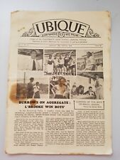 UBIQUE Everywhere We Probe School Newspaper UNIVERSITY HIGH SCHOOL 1949 March