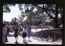 1964  Kodachrome photo slide Washington DC trip JFK Grave Memorial Kennedy #2