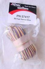 Hitec 3-Color Servo Wire (50 Feet)  HRC57417