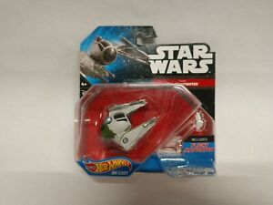 Star wars hot wheels starship #30 Yoda Starfighter Rare