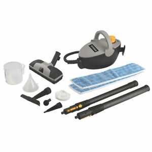 New! Latest Edition Titan 1500W Steam Cleaner 240V Floor Nozzle Spring Clean
