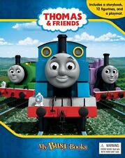 Thomas & Friends 2 My Busy Book w/ Playmat & 12 Figurines