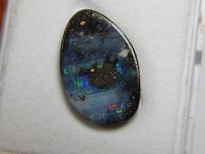 ⚒  Edelopal,Veta-Opal,black matrix opal # geschliffen # Lempira,Honduras