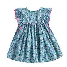 LOUISE MISHA LYKA DRESS - EMERALD FLOWERS 4Y