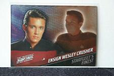 Quotable STAR TREK Next Generation Starfleet's Finest F9 Wesley Crusher #393/399