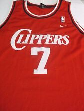 Los Angeles CLIPPERS Basketball Jersey #7 LAMAR ODOM Red Nike 4XL Khole NBA