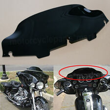 "Black 6""Wave Windshield Fit for Harley Touring FLHT FLHX Ultra Classic 1996-2013"