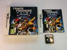 Transformers Prime: il GIOCO-Nintendo DS - 2 DS 3 DS DSi-gratuito, veloce P & P!