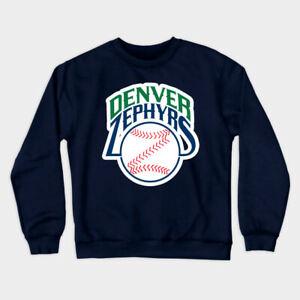 Denver Zephyrs American Association minor league baseball crewneck sweatshirt