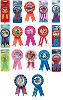 AWARD RIBBONS (Birthday) Variety of Themes inc. Disney, Marvel, Angry Birds