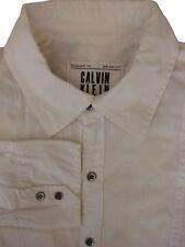 Calvin KLEIN Camicia Da Uomo 16 S Bianco – Eagle Serpente