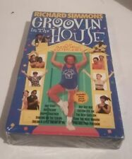 Brand New! Richard Simmons Groovin' In The House VHS Aerobic Excercise Fitness