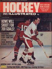 Hockey Illustrated Magazine January 1966 Gordie Howe 102317nonjhe