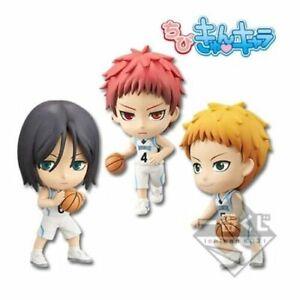 Ichiban Kuji Kuroko no Basket, Chibi kyun chara Rakuzan Set original japan anime
