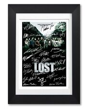LOST CAST SIGNED POSTER TV SHOW SERIES SEASON DVD PRINT PHOTO AUTOGRAPH GIFT