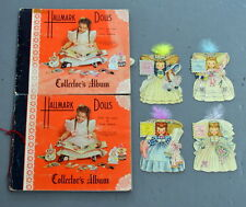 Lot of Hallmark Doll Cards Albums Make Believe Storybook + Little Women