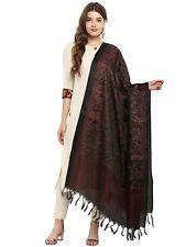 Women Printed Khadi Silk Dupatta Tippet Scarf Traditional Wear