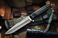 Kizlyar Supreme Delta D2 Steel Satin Finish Tactical Knife Fixed Blade Russian