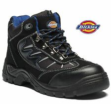 MENS DICKIES STORM LIGHTWEIGHT STEEL TOE CAP SAFETY HIKER LEATHER WORK BOOT SIZE