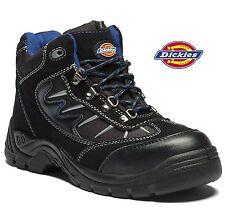 hommes Dickies Tempête embout en acier léger Chaussures de sécurité cuir travail