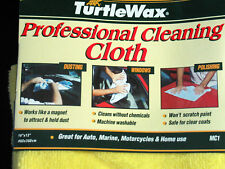 TURTLE WAX Cleaning CLOTH  Professional version AUTO DETAILING NEW , (**)