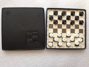 Chess USSR Road Game Soviet Vintage Magnetic Pocket Chess Antique