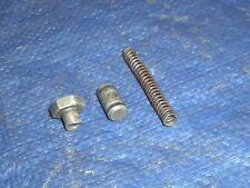 New listing 1975 Suzuki Tm125 Front Brake Cable Adjuster Nut Suzuki Tm 125 Return Spring