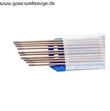 Wolframelektroden WIG Elektroden WC20 Grau / WL15 LaRC Gold (Neu)