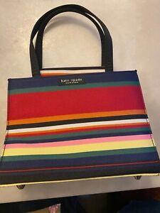 KATE SPADE NEW YORK Rainbow Multi Color Handbag Women's