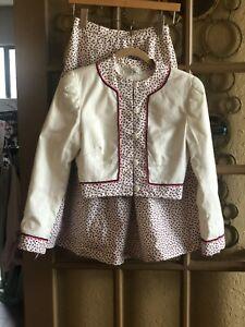 Koos Van Den Akker New York Vintage 90s Two Piece Skirt Suit. Collector's Size 6