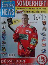 Sonderheft DEL 2016/17 Düsseldorf DEG Eishockey News 9/10/11 - 2016