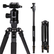 Z688 Professional Travel Aluminum Tripod Monopod Ball Stand for DSLR Camera
