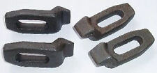 SWAN NECK FACE PLATE CLAMPS FOR BOXFORD LATHE SET OF 4