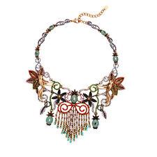 "New 16"" Resin Bib Statement Necklace Gift FS Vintage Women Party Wedding Jewelry"
