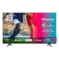"Televisore HISENSE 43"" LED 43A7100F ULTRA HD SMART TV DVB-T2 HDMI NERO"