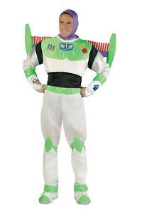 Buzz Lightyear Prestige Adult Costume Disney Toy Story Movie Astronaut Halloween