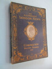 """1937 """"THE ILLUSTRATED LONDON NEWS, CORONATION"""", GREAT OLD ADS, 100s OF PHOTOS"""