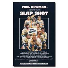 Slap Shot 24x36inch 1977 Movie Vintage Style Silk Poster Pub Shop Decoration