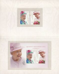 Australia 2014  Queen's Birthday stamp pack SG 4141/ms4143 MUH