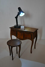 Furniture for Dolls 1:6 1/6  FR Barbie Set: console bedside table & chair & lamp