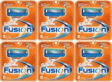 NEW AUTHENTIC Gillette Fusion Razor Blades Cartridge Refills - 48 Count