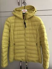 Parajumpers Women's Juliet Acid Green Short Hooded Quilted Jacket (L/BNWT)
