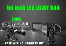 50Inch 288W Led Light Bar Spot Flood Offroad 4WD Driving Lamp Truck Waterproof