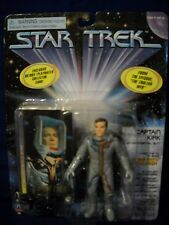 1997 Playmates Star Trek CPT. KIRK Enviromental suit  6430/16048 Figure w/ Card