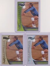 (3) 2009 FUSION KARCH KIRALY BEACH VOLLEYBALL #84 LOT ~ GOLD/50  SILVER/99  BASE