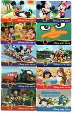 Lot (25) Disney Gift Cards No $ Value Collectible Halloween Mickey Toy Story +++